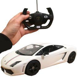 Radiostyrd Vit bil Lamborghini Gallardo LP550-2 Limited Edition 1:10