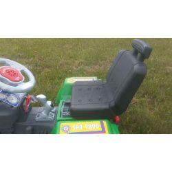 Eltraktor barn Jamara Power Drag SPR 9800 med lampor. 12 volt.