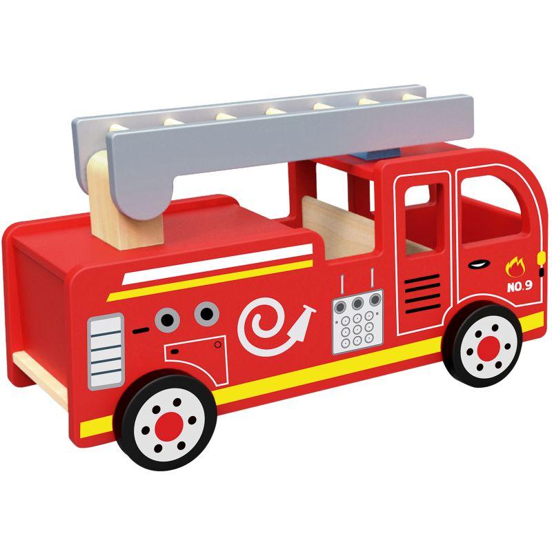 stor brandbil leksak