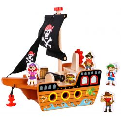 Piratskepp i trä, Tooky Toy