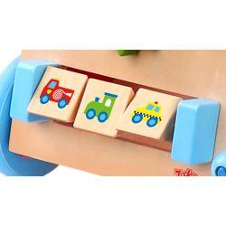 Gåvagn med musikinstrument Tooky Toy