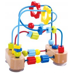 Aktivitetsleksak, kulbana med geometriska former barn Tooky Toy