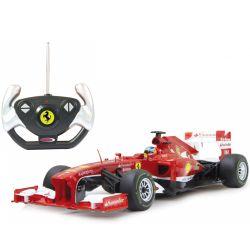 Radiostyrd bil Ferrari F1 i Rastar skala 1:12