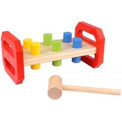 Tooky Toy Klassisk bultbräda leksak för barn