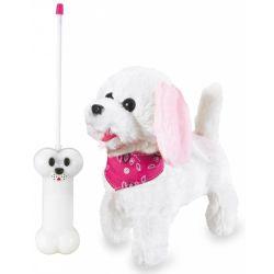 Jamara Radiostyrd Trixi Plush Hund Rosa - 27 Mhz