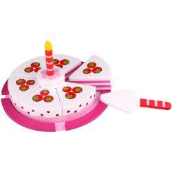 Tooky Toy Födelsedagstårta delbar lekefterätt