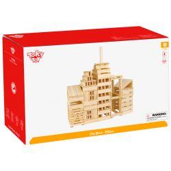 Tooky Toy Kaplastavar Leksak i trä 250 delar
