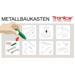 Byggmodeller 15 st. Leksaksfordon Metall Tronico