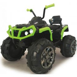 Jamara Elfyrhjuling Protector Grön 12 volt