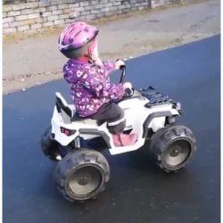 Elfyrhjuling Jamara Protector 12 volt