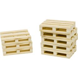 Kids Globe wooden pallets set of 8 pcs 5x3,8x1 cm 1:32