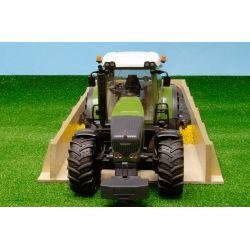Plansilo i trä för Bruder traktorer. Kids Globe. 1:32